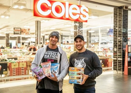 Muscle Nation lifts retail weight with protein products at Coles