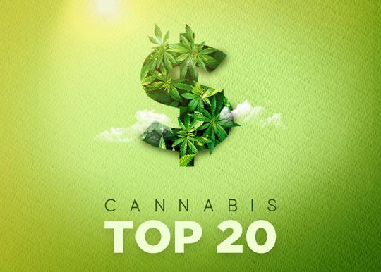 Australia's top 20 cannabis companies 2020