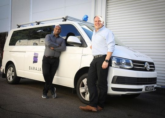 Baraja beaming after self-driving tech deal with Veoneer