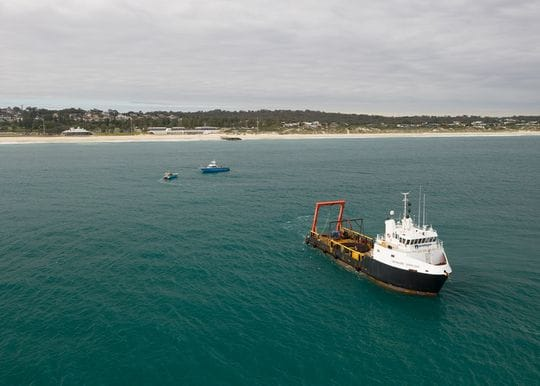 Undersea cable linking Australia to Middle East and Europe lands in Perth