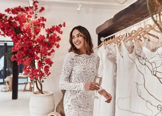 Wedding dress giant Grace Loves Lace to walk down the aisle in Canada