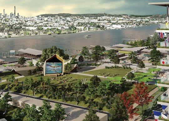 Brisbane Olympic Athletes' Village plans revealed for Northshore Hamilton