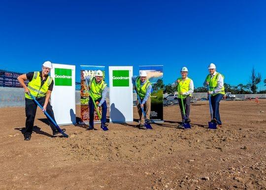 Construction starts on $250m CHEP service centre in Brisbane