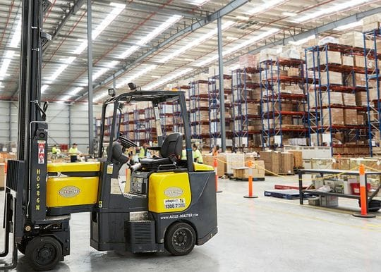 eStore Logistics unveils robot-powered Melbourne warehouse