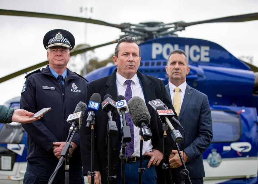 WA to tighten border restrictions with Victoria