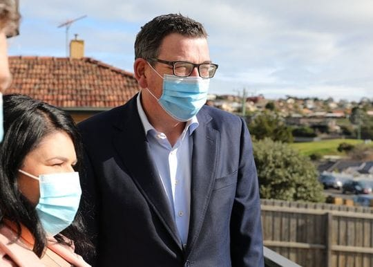 Record daily cases and Geelong in lockdown after Victoria unveils freedom roadmap