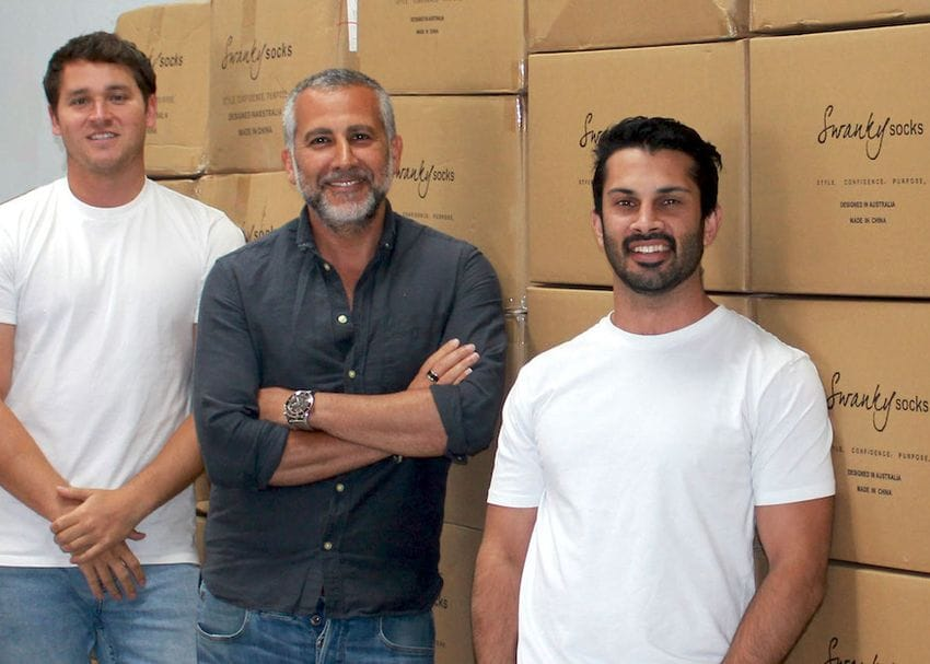 Swanky Socks reaches charitable milestone with 100,000 socks donated to the homeless