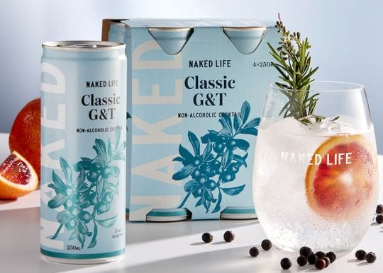 Naked Life Spirits launches non-alcoholic canned cocktails range with Coles and Woolworths