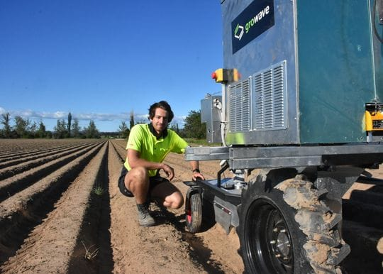 Growave to raise $5m for chemical-free weed control
