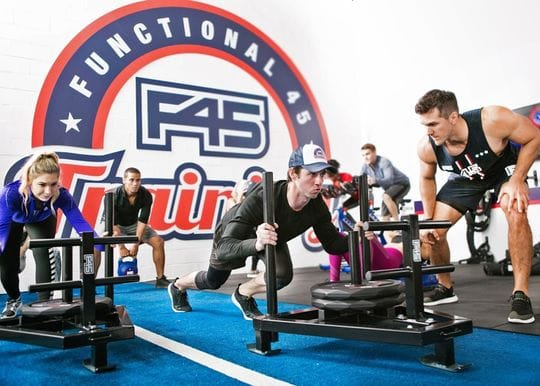 How intellectual property contributed to F45's success