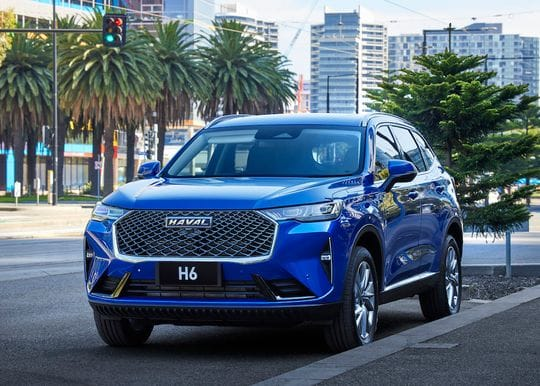 The all-new Haval H6 sets a new precedent for affordable SUVs in Australia