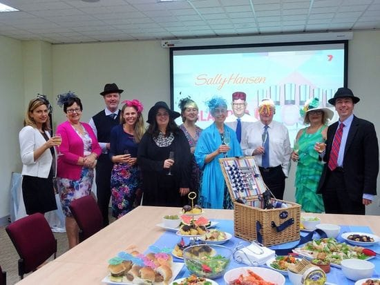 Melbourne Cup luncheon at Provincial Office