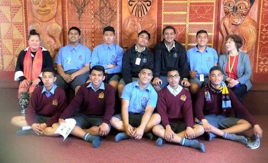 Pacific Island Leaders of Tomorrow at Mangere