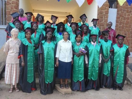 Scenes of Jubilation at Graduation Ceremonies in South Sudan