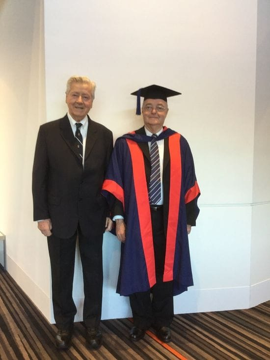 Doctorate awarded to Director of Lasallian Formation