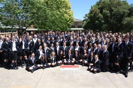 Students back Sponsor Child Program at James Sheahan Catholic High