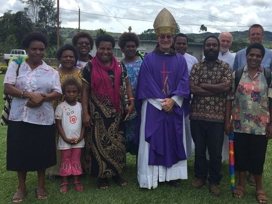 Lasallians unite at Dedication Mass in Mount Hagen