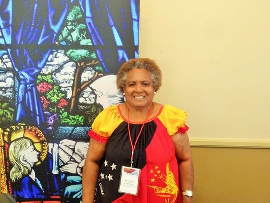 A Champion for Lasallian Education in PNG- Bernadette Ove