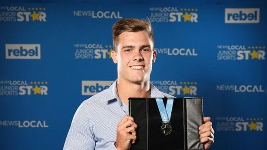 Oakhill College Captain honoured with major Sports Award
