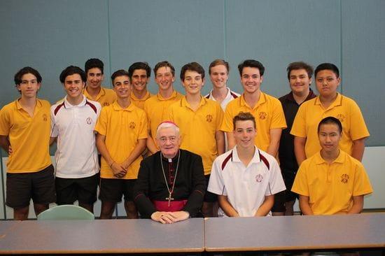 Bishop Elliott welcomed at St James College