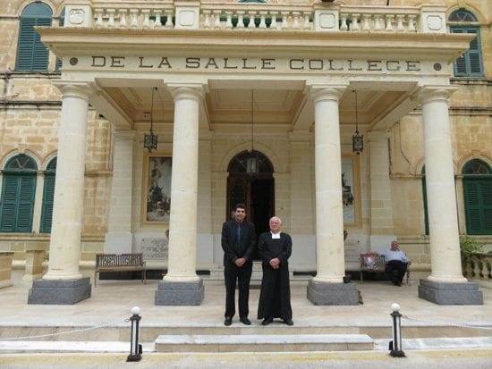 New bonds forged between St Michael's Adelaide and De La Salle Malta