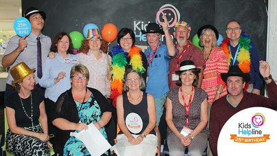 Kids Helpline marks its 25th anniversary