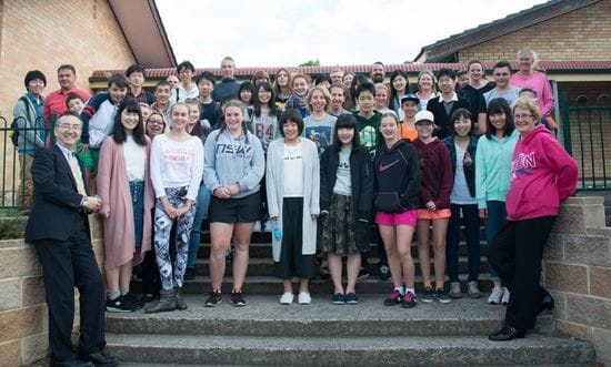 La Salle Academy Lithgow forging strong exchange program with Japan