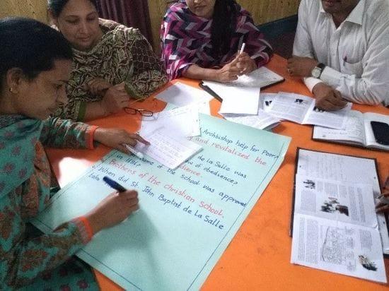 Induction Program for new Lasallian Teachers in Pakistan