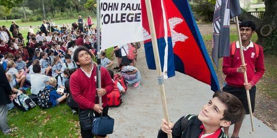 John Paul College Rotorua leads the way in Caritas Challenge