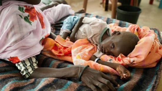 Prayer to relieve Famine