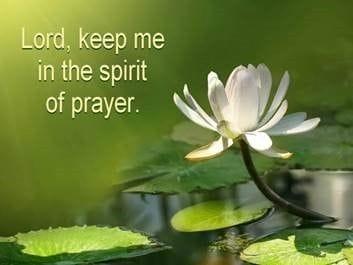 A Spirit of Prayer