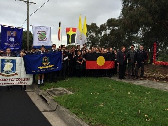 De La Salle Malvern students lead March for Reconciliation