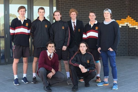 AFL star and St James' College alumni Liam Sumner