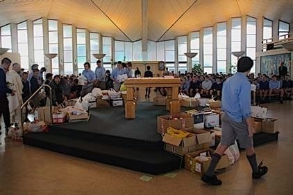 Francis Douglas Memorial College students pitch in for Caritas NZ