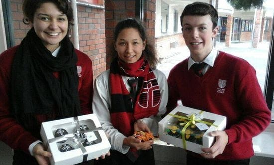 Cupcakes for Cambodia at John Paul College Rotorua