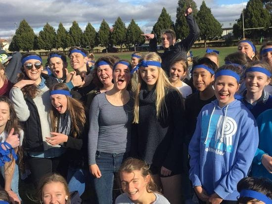Founder's Day and Vinnies Winter Sleep out at O'Connor Catholic College