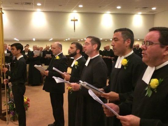 Br Ken Kalinowski takes his final vows