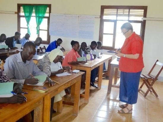 Educating for a better future in South Sudan