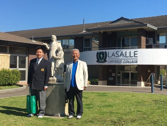 La Salle Bankstown forging closer ties with Lasallians in Japan