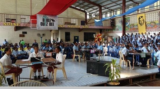Jubilee Catholic Secondary School wins PNG Bible Quiz competition