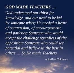God made Teachers