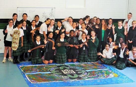 La Salle Bankstown unveils major Indigenous art project