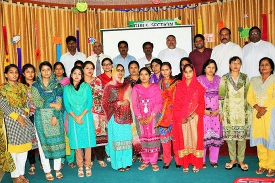 Induction program for new teachers in Pakistan
