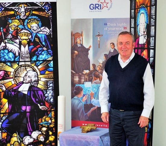 Former Principal Gary Burrows leaves behind Lasallian legacy