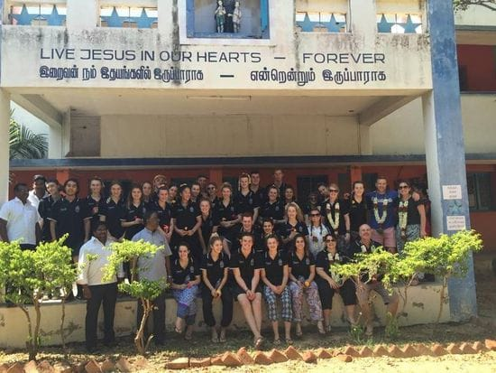 Oakhill College outreach to India and the Philippines
