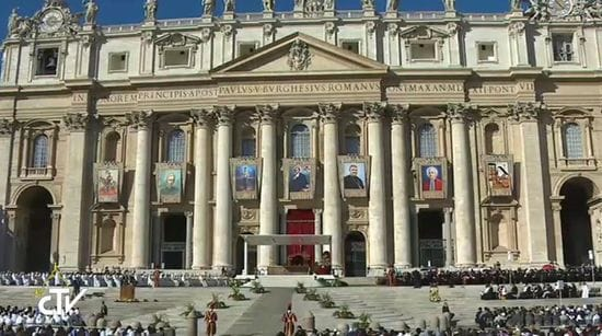 Pope Francis canonises Brother Solomon