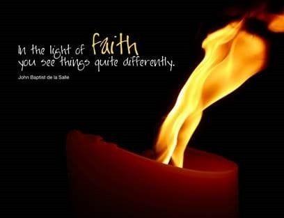 In the Light of Faith