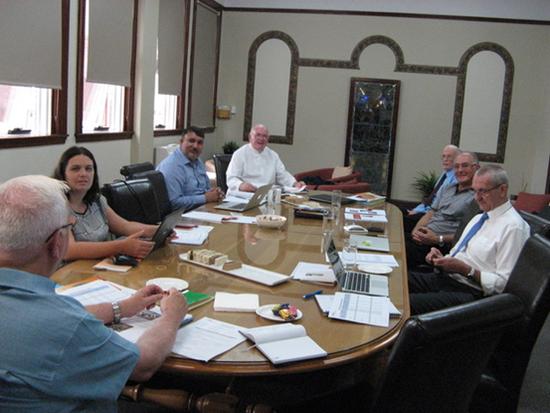 District Council visits District Archives
