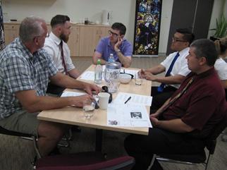 Catholic School - Lasallian Heritage program at the Provincial Office