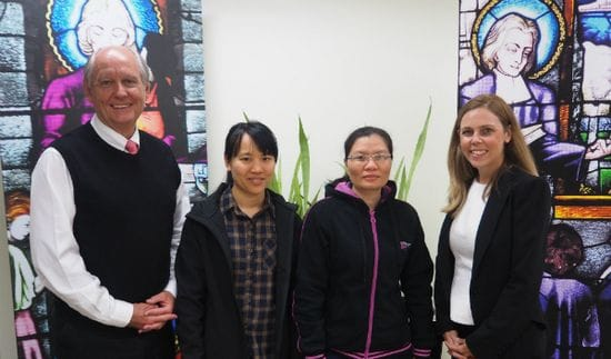 Lasallian Mission Services' welcome new team members